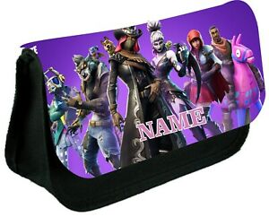 FORTNITE   # 8  Personalised Pencil Case, make up bag, school any name