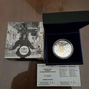 Coffret pièce monnaie 10€ argent 2018 Europa Star l'Epoque Romantique et Moderne