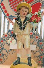 Vintage Valentines Day Card, Delicate Victorian Pop Up Valentine