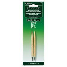 Clover Takumi Bamboo Interchangeable Circular Knitting Needles No.10 (6.0mm)3640