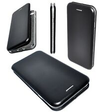Etui Housse Cuir Pu Premium Folio Noir pour Apple iPhone 7 Plus