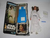 VINTAGE 1977 ORIGINAL STAR WARS LARGE SIZE PRINCESS LEIA ORGANA FIGURE + BOX
