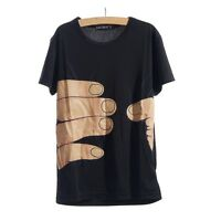 NEW UNISEX FUNNY HAND GRAB PRINTED T-SHIRT MENS LADIES 3D TOP SHORT SLEEVE -  T