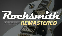 Rocksmith 2014 Remastered Steam Key (PC/MAC) -- Region Free - NO CABLE INCLUDED