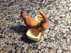 Adorable dachshund vintage ring holder,jewelry caddy...small and sweet!