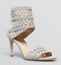 Via Spiga Open Toe Ankle Strap Platform Sandals - Vanka High Heel GREY (SIZE 5.5