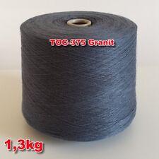 375 Granit TVU Ocean Nm 30/2 Baumwolle Acryl Strickgarn Häkelgarn Garn Kone