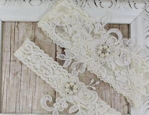 Wedding garter, bridal garter set, lace garters, wedding dresses, prom garters