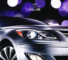 2014 Hyundai 28-page Car Sales Brochure - Equus Genesis Azera Sonata Veloster