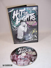 HIT THE LIGHTS Vultures Don't Eat Vans Tour DVD (2010) Emocore PUNK EMO Live