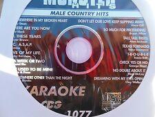 Monster Hits Karaoke CD+G vol-1077/ Clay Walker,Alabama,Garth Brooks,Bryan White