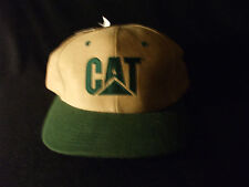 Cat tan and Green twill ball cap