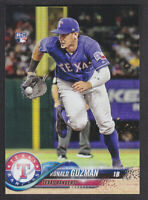 Topps Update 2018 - Base US105 Ronald Guzman - Texas Rangers RC