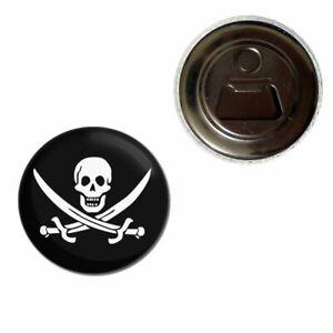 Jolly Roger - 55mm Fridge Magnet Bottle Opener BadgeBeast