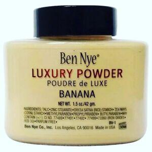 2X  Count Ben Nye Banana Authentic  Luxury Banana Powder 1.5 oz Bottle
