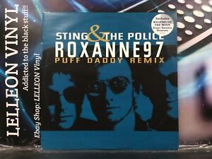 "Sting & The Police Roxanne 97 12"" Single Vinyl Record 582455 R&B 90's"