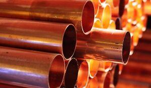 Kupferrohr Restposten Stange 15, 18, 22, 28 mm,RAL Ausverkauf Rabatt
