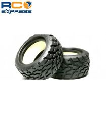 Tamiya NDF01 V-Tread Block Tires - (75/47) TAM53854