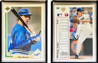 Mike Kingery Signed 1989 Topps #413 Card Seattle Mariners Auto Autograph