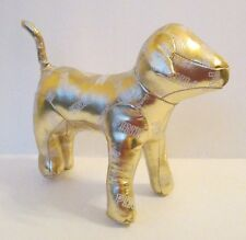 "PINK DOG 8"" PLUSH DOLL, Vinyl Gold, Victoria's Secret"