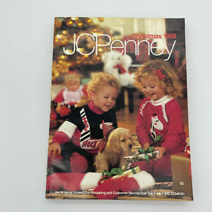 1989 JCPenney Christmas Catalog Holiday Toys Book