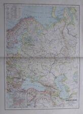 Karte aus 1889 - Europäisches Russland - alte Landkarte old map
