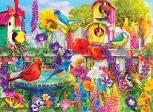 Kodak 1000 Piece Jigsaw Puzzle - Garden Birds