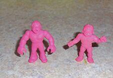 M.U.S.C.L.E. Figure Lot  - Group A1-  Magenta Muscles Muscle pvc figures