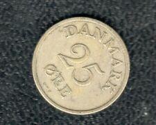 DENMARK 25 ORE 1950