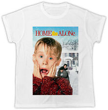 FUNNY HOME ALONE MOVIE POSTER IDEAL GIFT BIRTHDAY PRESENT UNISEX COOL T SHIRT