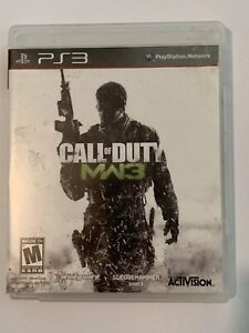 Call Of Duty Modern Warfare 3 - PS3 Game Tested No Manual