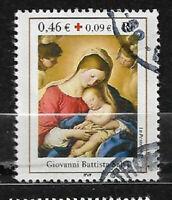 FRANCE oblitéré 2002 Croix rouge Y&T N° 3531 cachet rond