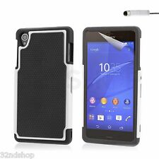 32nd Shockproof Series - Dual-layer Shock and Kids Proof Case Cover for Sony Z