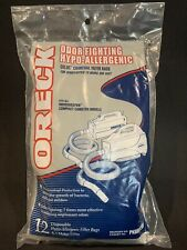 Oreck Celoc Charcoal Filter Bags Odor Fighting Hypo Allergenic Vacuum PKBB12OF