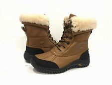 UGG ADIRONDACK II WINTER BOOTS WATERPROOF LEATHER OTTER BROWN WOMEN'S US 7.5 NIB