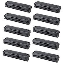 10-Pk/Pack MLT-D101S Black Toner Cartridge Samsung 101 ML-2165W SCX-3405W SF760P
