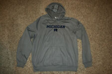Adidas Michigan Wolverines Football Sweatshirt Hoodie XL Climawarm