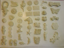 110x Assorted Plaster Pieces. READY TO PAINT. Perfect for Kids, Schools & Fetes