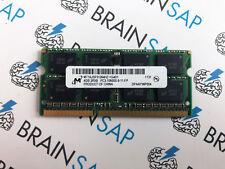 4GB DDR3 RAM Micron MT16JSF51264HZ-1G4D1 SO-DIMM - 2Rx8 PC3-10600S-9-11-FP