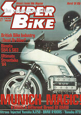 Yamaha XT550 Bimota SB4 LCR Yamaha sidecar Honda MTX200R BMW R100RS K100RS MTX