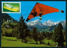 GERMANY MK 1983 HANG-GLIDING HANG-GLIDER DRACHENFLUG MAXIMUM CARD MC CM aq62
