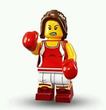 LEGO 71013 Minifigures Kickboxer Series 16  Genuine Kick Boxer Girl Figure