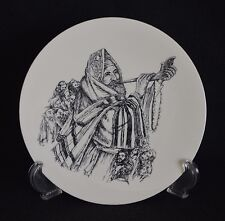 YOM KIPPUR - BLOWING THE SHOFAR - LIMITED EDITION COLLECTOR PLATE