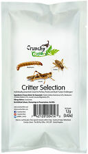 Edible Insects Bugs Bush Tucker Critter Selection 12g Crunchy Critters