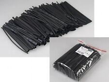 Assortimento di tubo termoretraibile, 100-pezzi in Sacchetto di gamma, nero