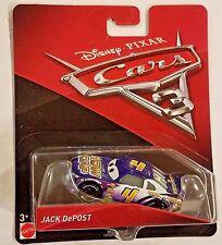 Disney Pixar Cars 3 Jack Depost # 4 Tow Cap Mattel 1:55 Diecast  New