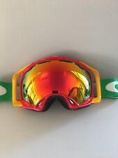 Rare Custom Oakley Splice Ski Snowboard Snow Goggles in Excellent Condition!