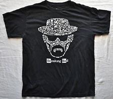 BREAKING BAD DRUGS CRIME TV SERIES DRAMA T Shirt Black Medium Cotton Mens