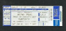 Britney Spears 2002 Unused Concert Ticket Boston MA Dream Within A Dream Tour