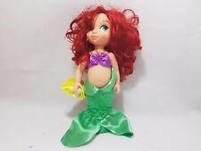 Disney Store Princess Ariel Animator Toddler Doll